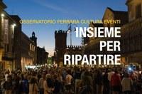 CFR entra nell'OSSERVATORIO FERRARA CULTURA EVENTI - Insieme per ripartire