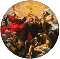 'L'Incoronazione della Vergine' del Bononi visibile fino al 12 Maggio a Santa Maria in Vado